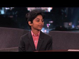 Jimmy Kimmel Live!: Jennifer Connelly, Rohan Chand, Sharon Jones & the Dap-Kings: Rohan Chand 2 -- Rohan explains what it's like to be a child actor starring in movies with adult content, and he talks about his critical younger sister. -- http://www.tvweb.com/shows/jimmy-kimmel-live/season-12/jennifer-connelly-rohan-chand-sharon-jones-the-dap-kings--rohan-chand-2
