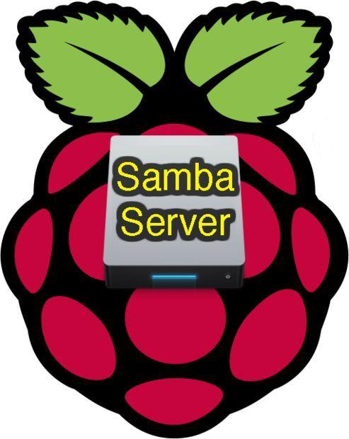 Raspberry Samba file server software