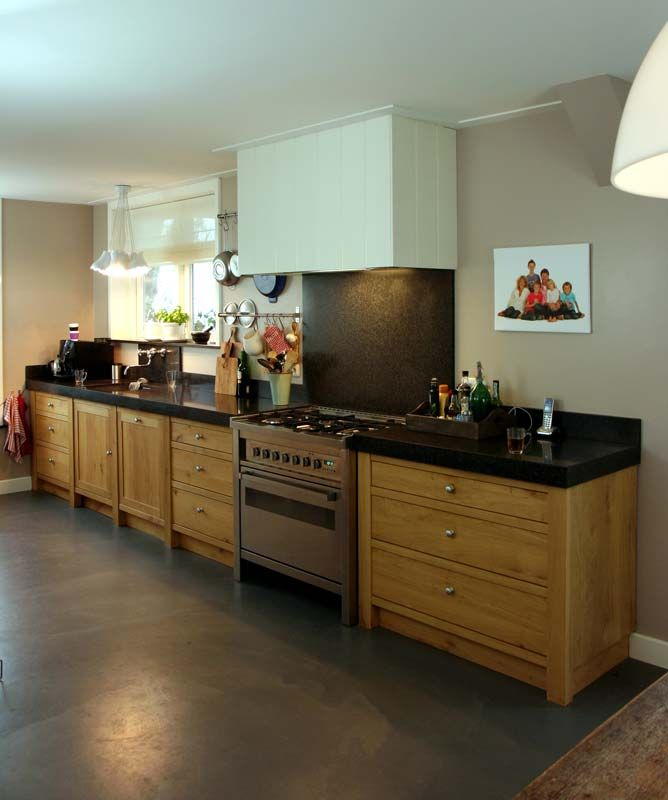 Houten Keuken Dreamland : Massief Eiken keuken 1040 Keuken Pinterest Country