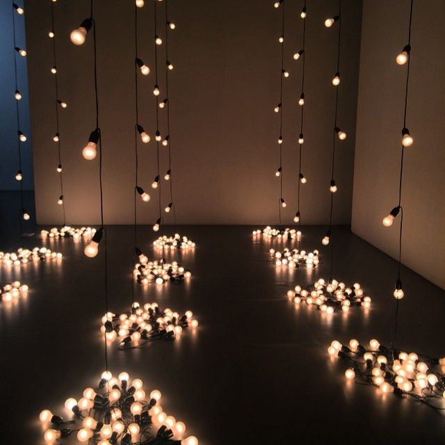Festoon Lighting / Wedding Reception Lighting (instagram: the_lane)