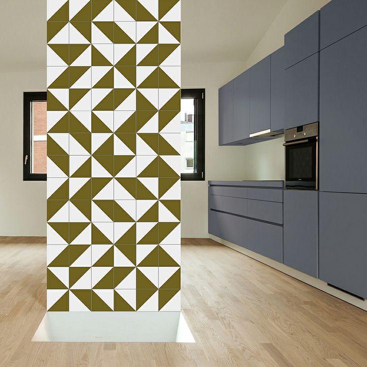 www.lurca.com.br/ // Lurca Azulejos - Coleção Modelo Raiz Verde Musgo // Lurca…