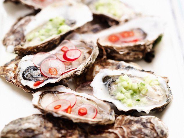 oesters met radijs of komkommer   ZTRDG magazine