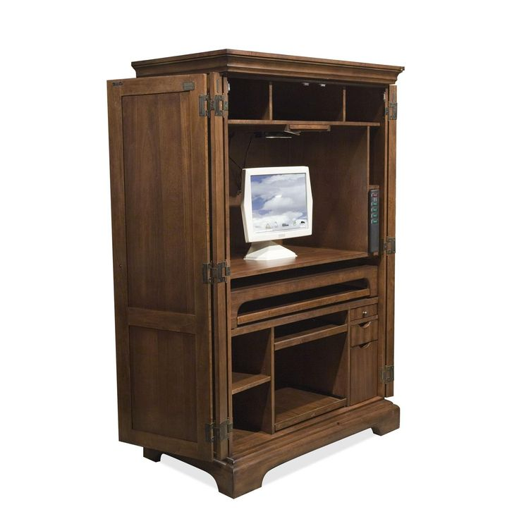 25+ Best Ideas About Computer Armoire On Pinterest