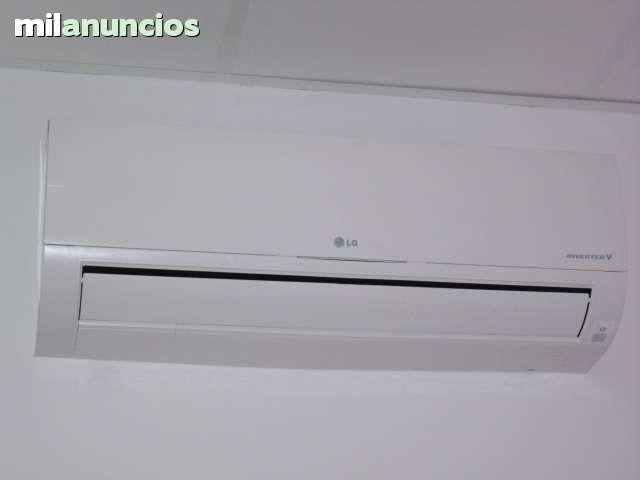 Vendo aparato de aire acondicionado lg inverter frio calor for Aire acondicionado 3500 frigorias inverter