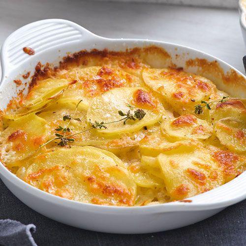 Kartoffelgratin mit Pecorino