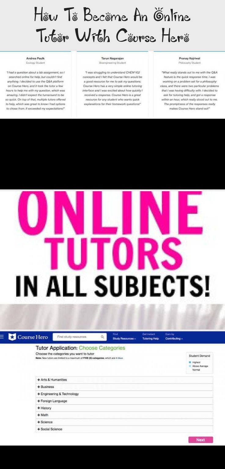 How To An Online Tutor With Course Hero in 2020