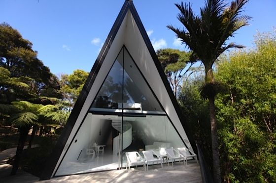 The Tent House, Waiheke Island. Designed By Chris Tate