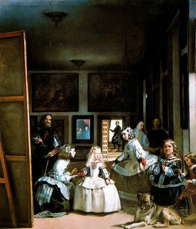 Pintores famosos: Velázquez para niños. Obras para colorear. Cómo trabajar las…