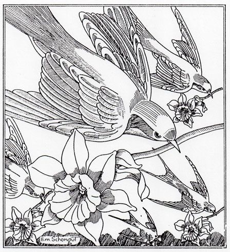 260 best images about pen ink floral on pinterest trees for Gerri the geranium coloring page