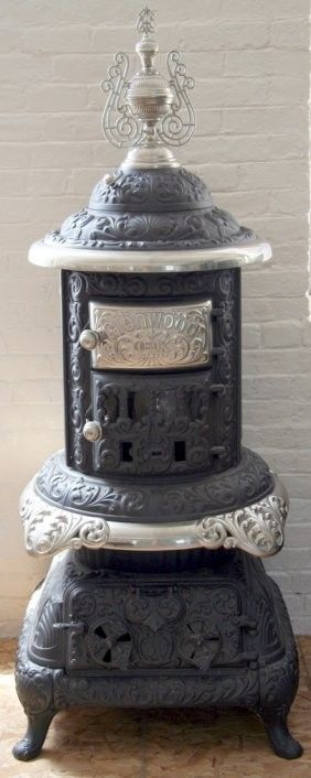 : Antique Glenwood Stove :