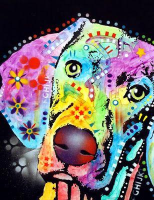 Pintura Moderna al Óleo: Arte Pop en Retratos de Animales, Pinturas de Dean...