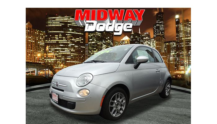 #DealOfTheDay: Start enjoying your Summer with a Fiat! This 2013 Fiat 500 model travels at money saving 31 MPGs in most cities! With the ability to fit into those tight parking spots, travel #Chicago with ease! TODAYS PRICE: $9,995! Click to make them move today!