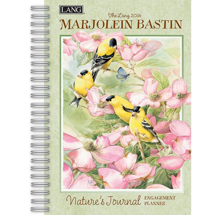 Marjolein Bastin Nature's Journal 2016 Softcover Weekly Planner | $15.99 |