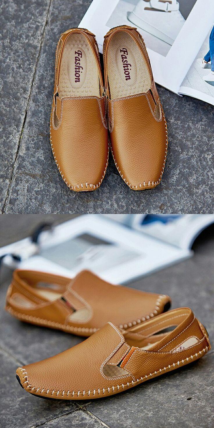 Новое поступление 2017 года большой Размеры Лето Мужские туфли для вождения натуральная кожа хорошее качество мягкие мужские лоферы удобные плюс Размеры 45, 46, 47