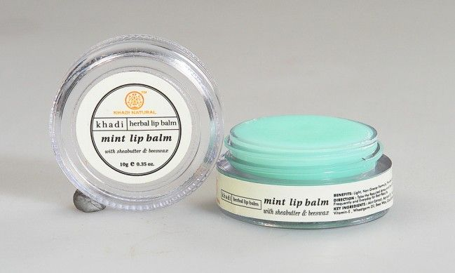 Khadi Natural Mint Lip Balm