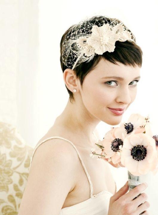 Beautiful Short Wedding Hairstyles 2013