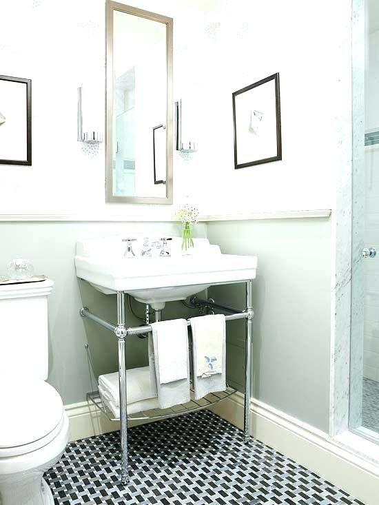 Small Bathroom Pedestal Sink Ideas Pedestal Sinks For Small