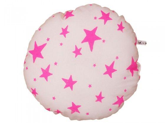 Pink Stars Cushion