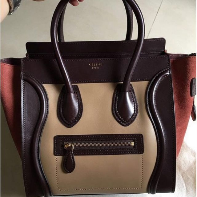 Fast sale! Preloved Celine Micro Luggage 3tones with receipt 201218jt only!https://www.instagram.com/authenticnlimited/WA / LINE  : 081330772818