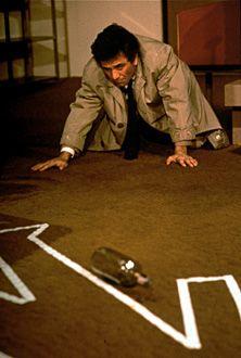 Peter Falk as Columbo.