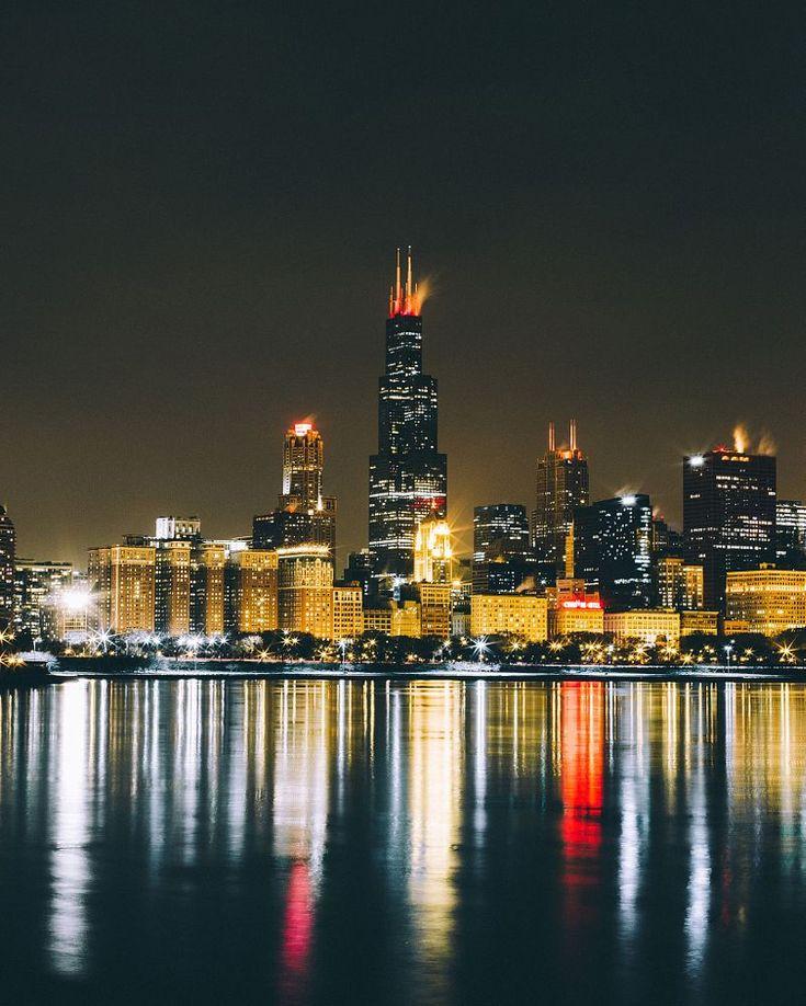 Chicago Nights by Ryan Millier