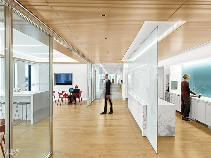 White Cases NYC Headquarters By HOK And HYL Architecture Is Calm Cool Collected Office Interior DesignInterior