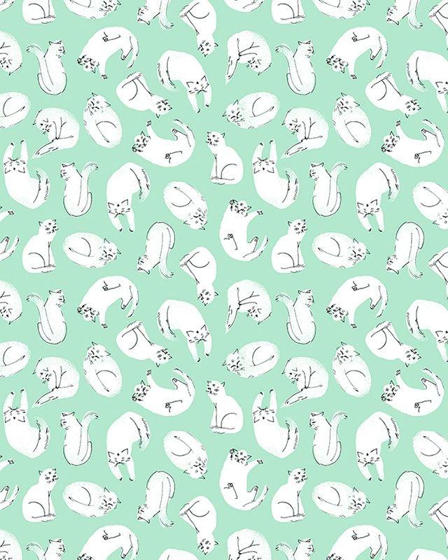 eterlara: I've just found my cat pattern running on tumblr, what a surprise!