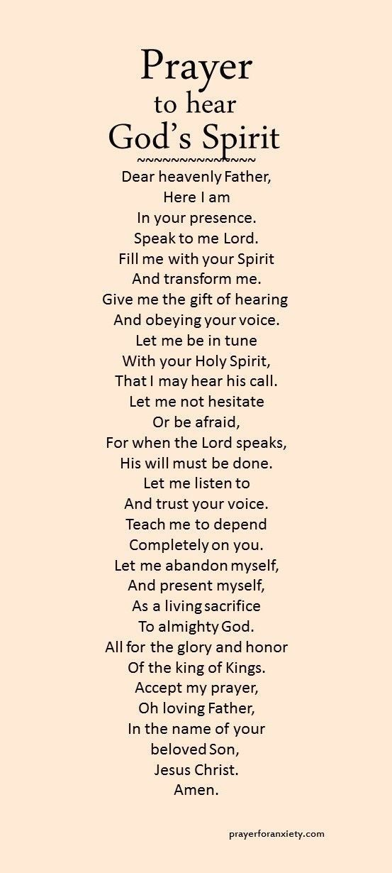 I do want this for myself,I need to hear GODS voice.