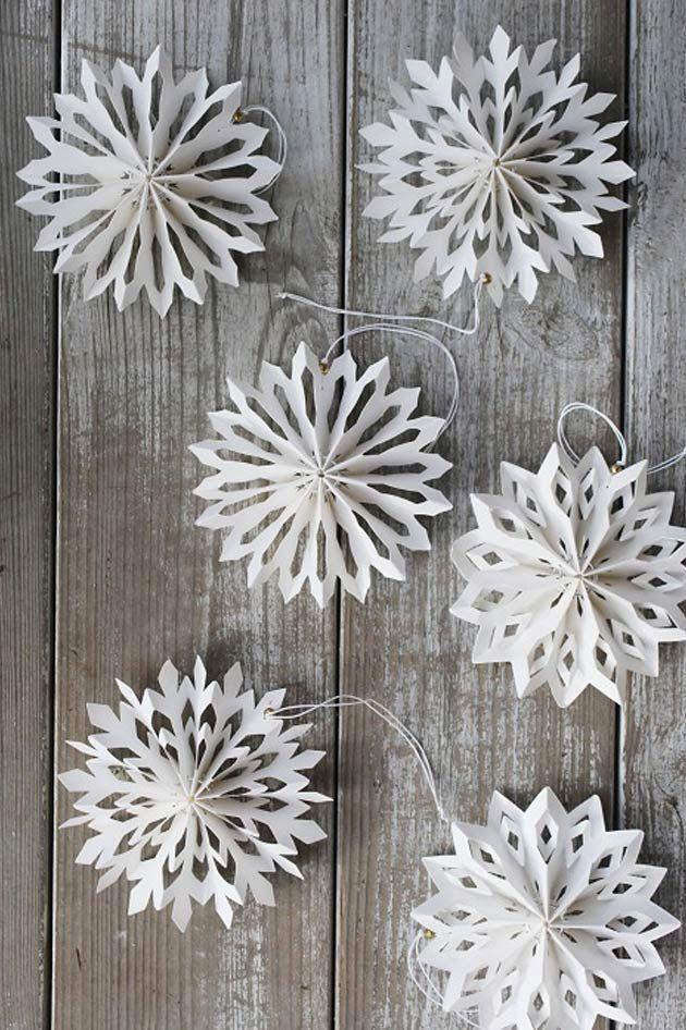 DIY :: paper snowflake
