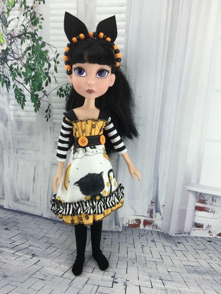 Maudlynne Macabre Halloween Kitty Dress | eBay