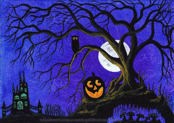 halloween art deep space sparkle