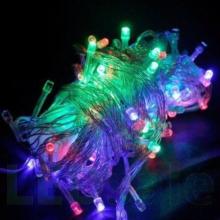 10 Meter LED Jouluvalot – RGB