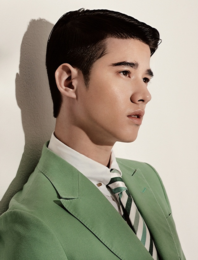 Thai actor 명승부경마Mario Maurer, from a feature in Esquire Korea, 2013, photograph ♠YASI29.RO.TO♠by Kim Hyungsik.