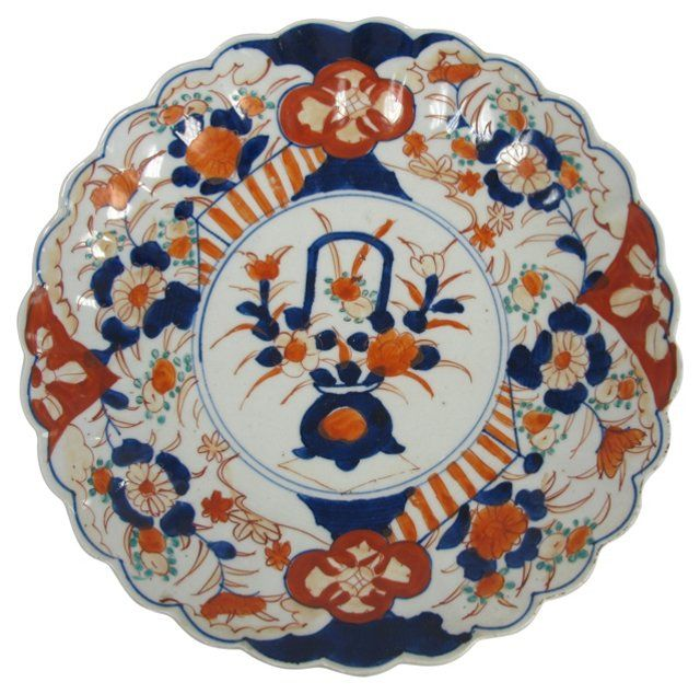 Antique     Japanese Imari Charger