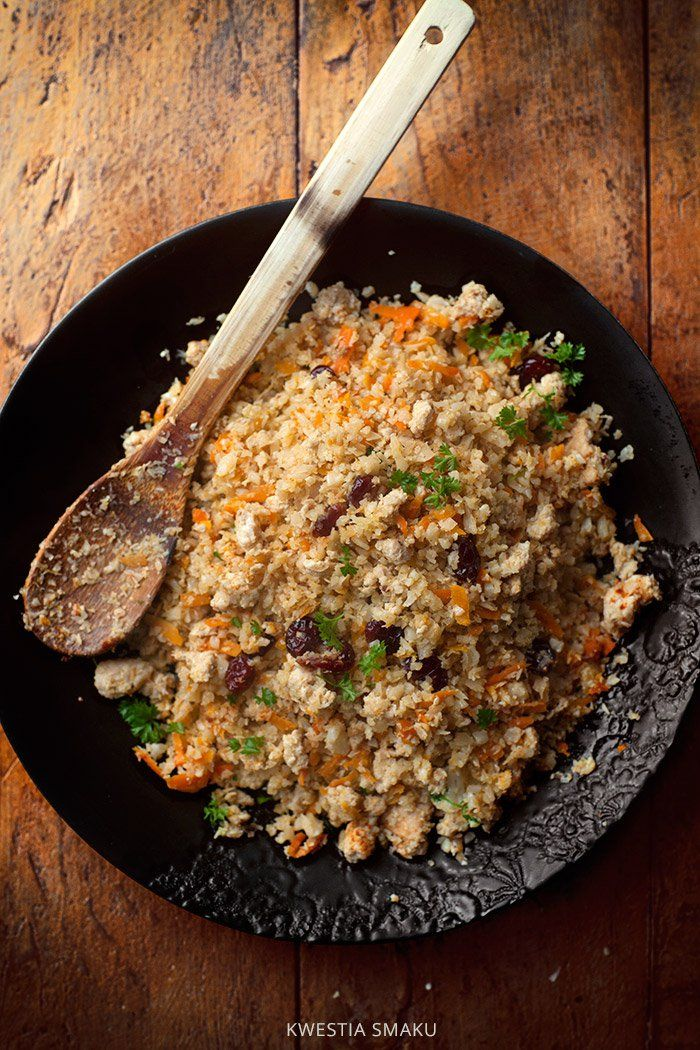 Smażony ryż z kalafiora