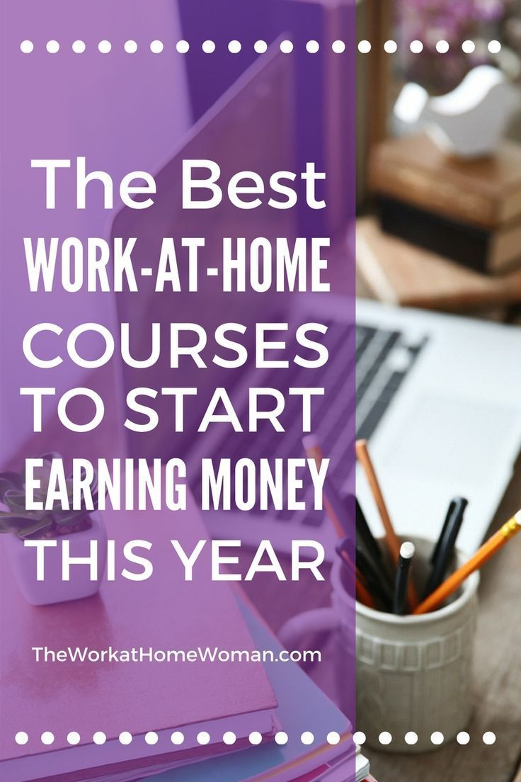 There is absolutely no excuse for you NOT to be making money from home this year! With advances in technology more jobs can be done from home, and startup costs for launching your own business are little to nothing. Best of all there are affordable traini