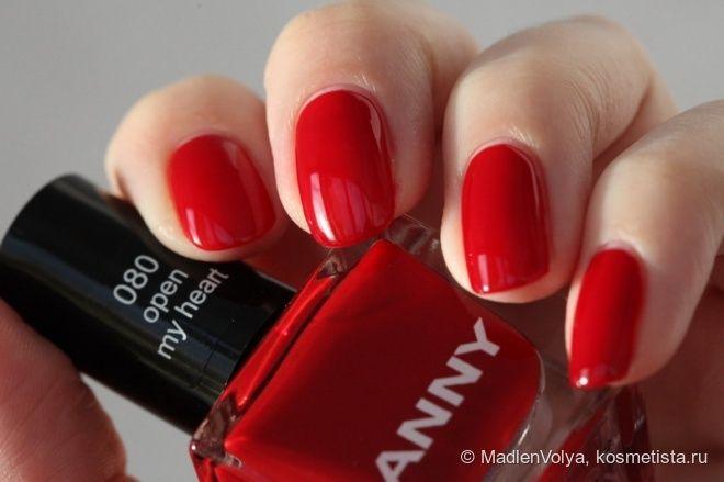 С Новым Годом! Лак для ногтей Anny #080 Open My Heart