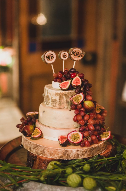 Not your traditional wedding cake, yum! Photo Credit: Jason Vandermeer