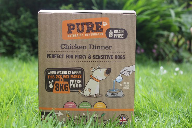 What we tested  Pure Dehydrated Pet Food Chicken Dinner Price: 24.99 Ingredients: Chicken (25%) potato carrot parsnip chicken liver green beans apple cabbage minerals Protein: 26% Crude oils & fats: 11% Weight: 2kg (8kg prepared)  Find out more or buy it here.  Im very picky about what food I feed to my fussy Boxer-cross dog Norman. He has a rather sensitive stomach which I have learned the hard way! So when Pure Food got in touch and asked if Norman would like to try their natural…