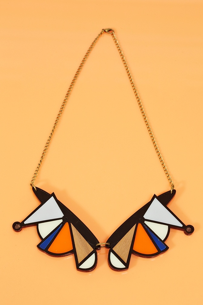Shape Shift Necklace: Bracelets Rings, Shape Shift, Graphics Lace, Multicolored Socialbliss, Geometric Fashion, Nasty Gal, Art Geometric, Shift Necklaces, Gal Necklaces
