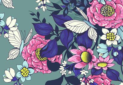 Design a Floral Pattern for Fabric in Adobe Photoshop - Tuts+ Design & Illustration Tutorial