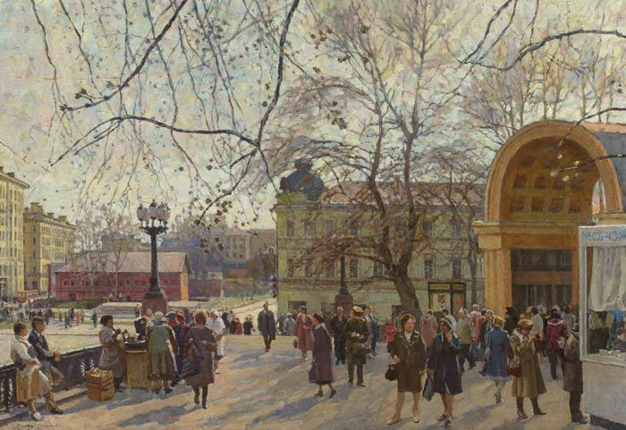 В.Власов-Климов. Апрель