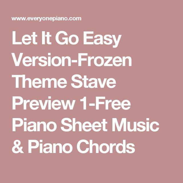 Best 25+ Let It Go Music Ideas On Pinterest