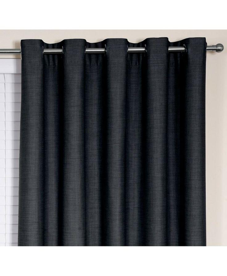 Blockout Avenue - Charcoal #curtains