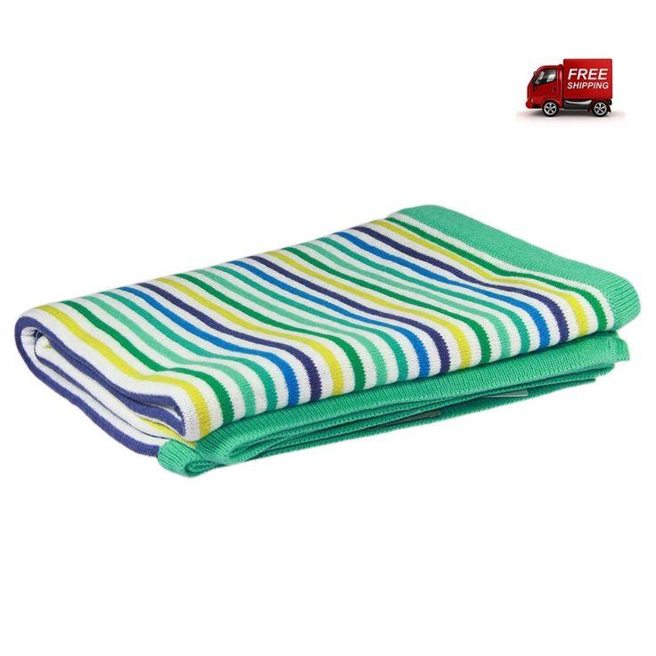 preciouspieces.com.au - D.Lux Rainbow Knit Bassinet Blanket - Sea, $64.95 (http://www.preciouspieces.com.au/d-lux-rainbow-knit-bassinet-blanket-sea/)