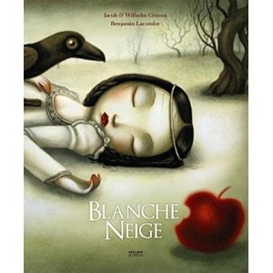 Blanche Neige, Snow White, the French version -- a little more terrifying.
