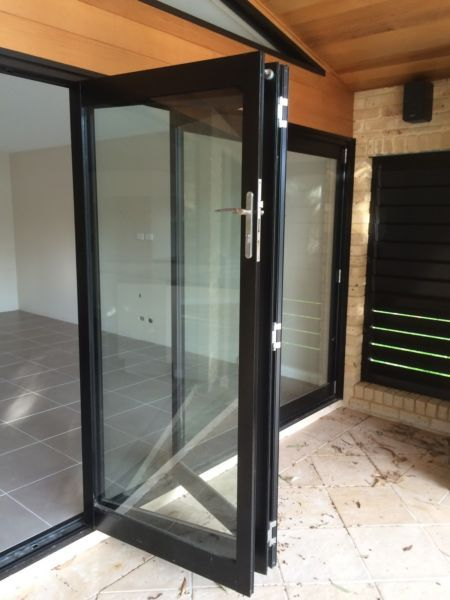 17 best ideas about bi fold doors on pinterest kitchen for Sliding glass doors gumtree