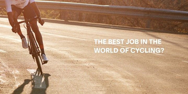 Were offering a new travel-filled job opportunity for the deeply passionate cyclist.  Actually a lot of cyclists would probably bill this as the best job in the world.  Follow link to see more and share with friends.  http://bit.ly/2iWE4pn