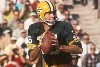 Bart Starr - lead GB Packers to first two Super Bowl wins.