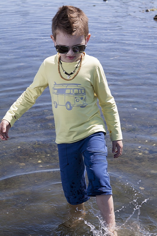 Such a cute look for boys! Peekaboo Beans Spring 2013 collection!